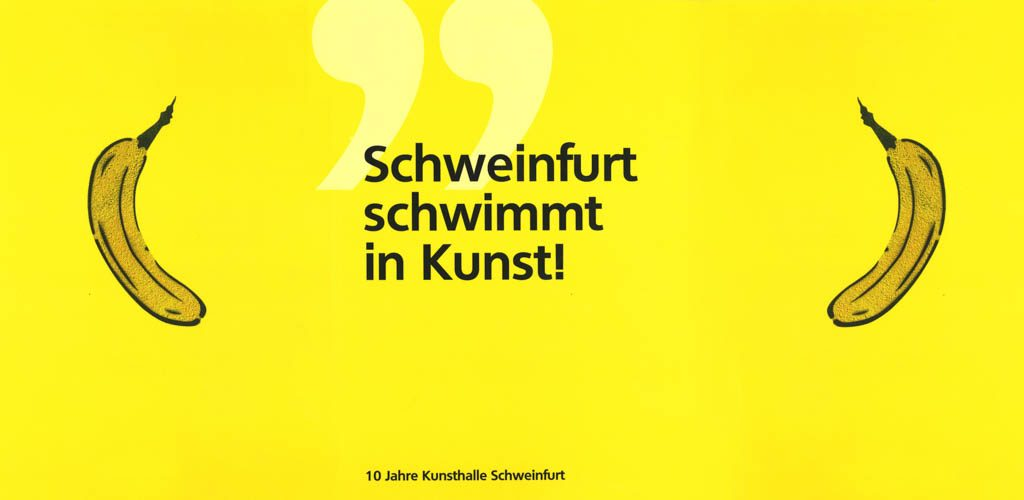 10 Jahre Konversion des Ernst-Sachs-Bades zur Kunsthalle Schweinfurt
