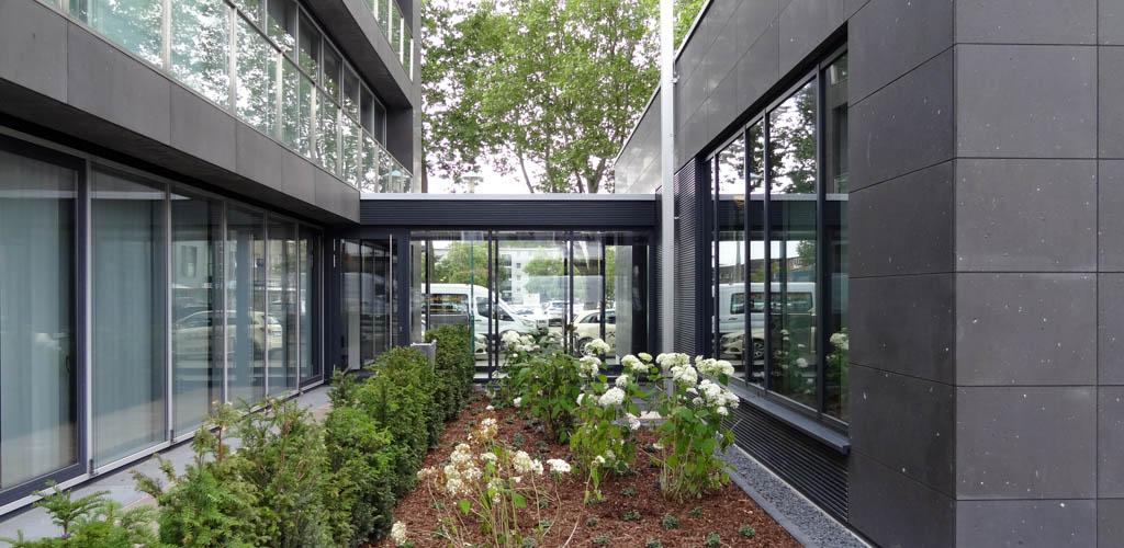 Bauabnahme Erweiterung Neubau Sparkasse Duisburg Walsum (c) Ropertz + Partner Architekten