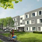 Neubau Gebag Wohnanlage Ulmenstrasse Duisburg