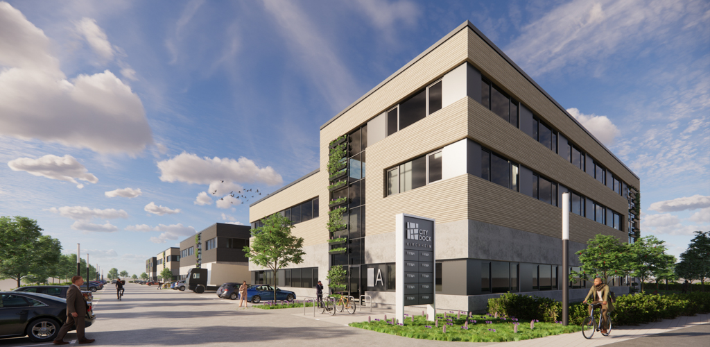 Neues Fassadenkonzept für Panattoni Kirchheim (c) RPP